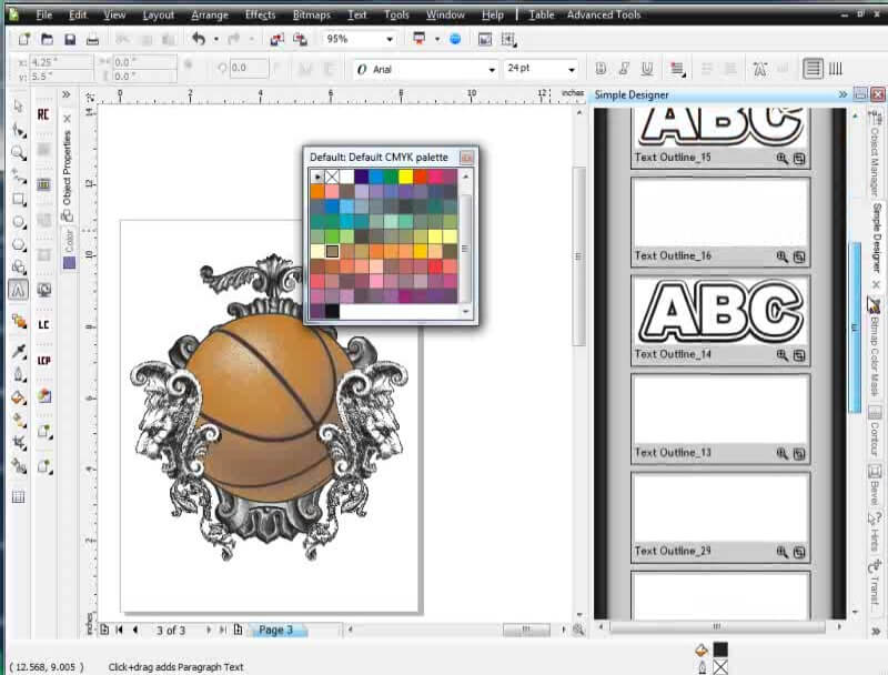 how to install corel particleshop brush pack