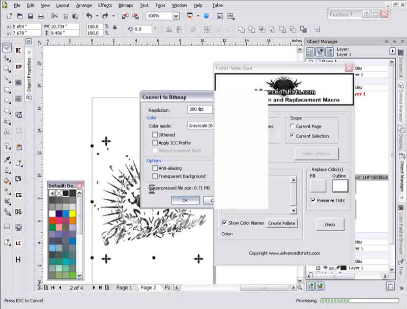 Manual Color Separations And Output In CorelDRAW Tutorial